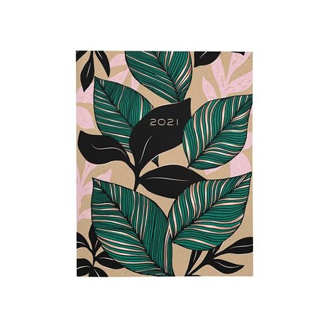 2021 Botanical Booklet Planner