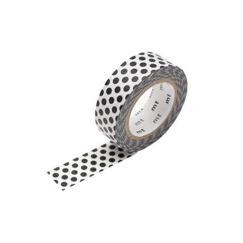 Dot Black 2 Washi Tape - 15mm