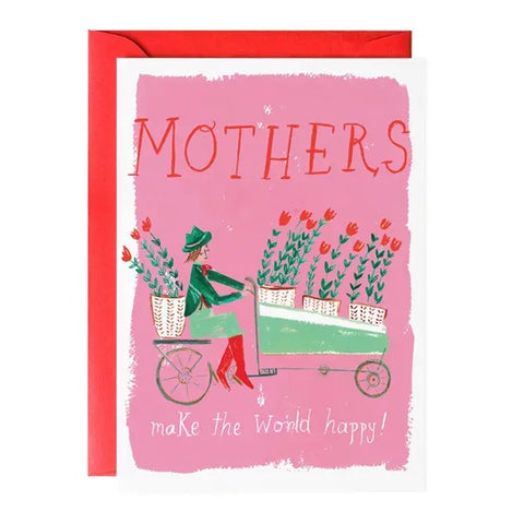 Tulip Delivery For Mom Single Card