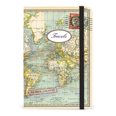World Map Notebook - Small