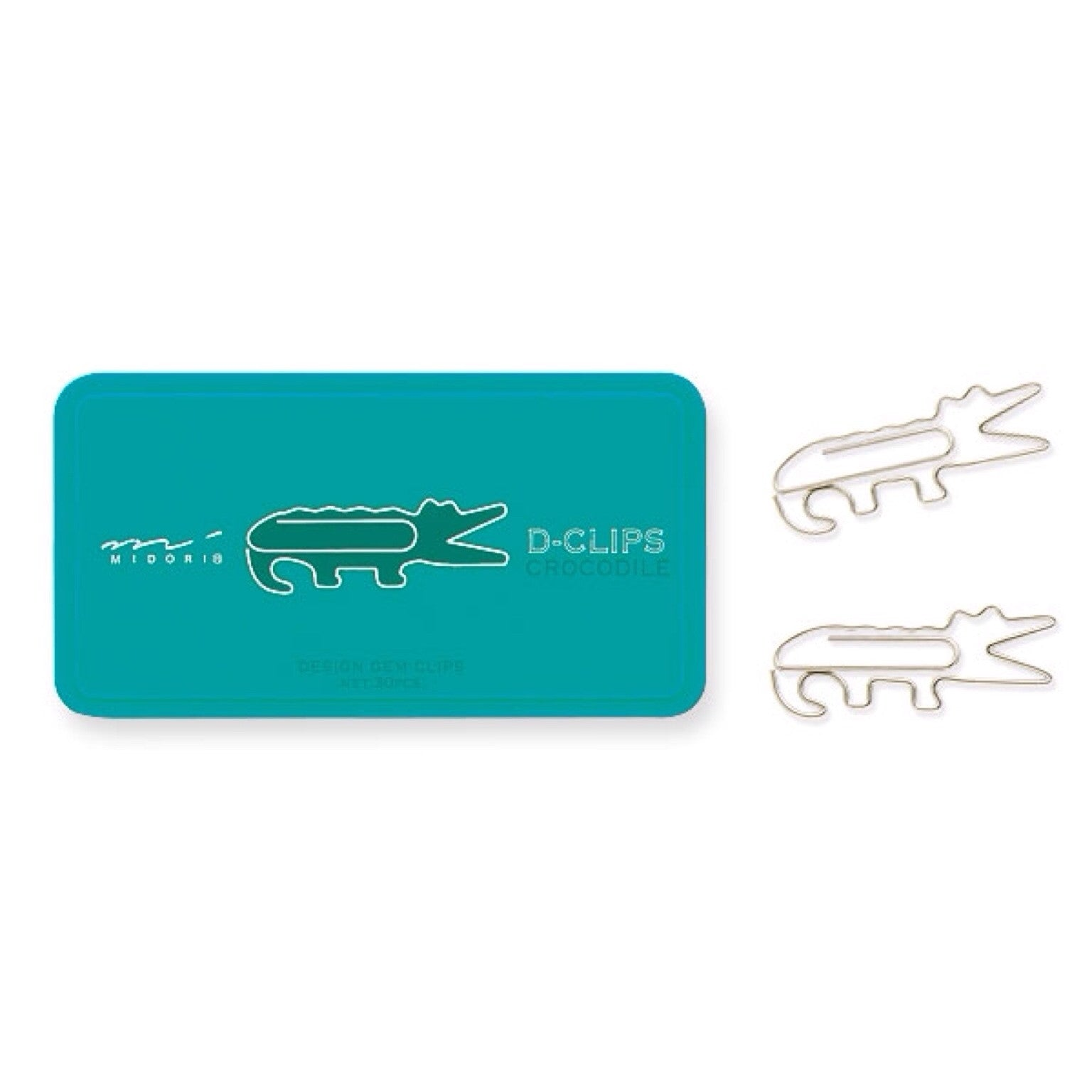 Crocodile D-Clips - 30pcs.