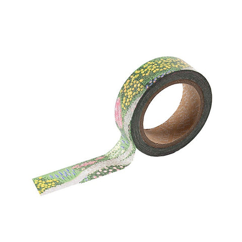 Flower Bed Washi Tape - 15mm