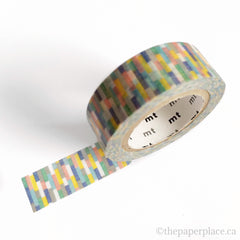 Block Blue Washi Tape - 15mm