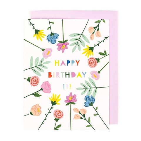 Blooming Birthday Single Card