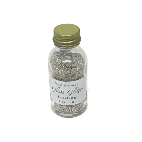 Sterling German Glass Glitter - 1oz