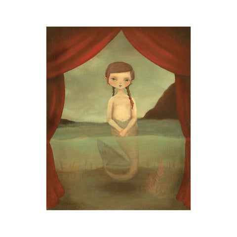"Fiji Mermaid 8x10"" Print"