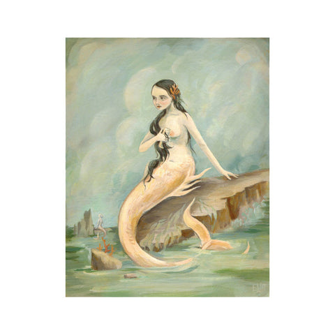 "I Have Heard The Mermaids Singing 8x10"" Print"