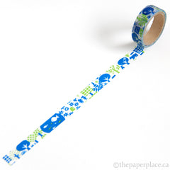 Blue Forest Washi Tape - 15mm
