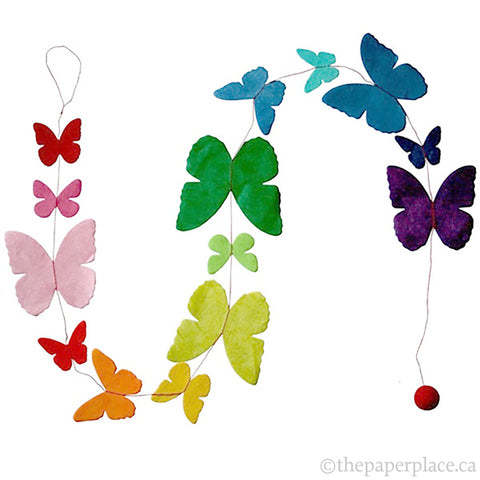Butterfly Garland - Rainbow
