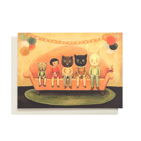 Costume Party Single Card