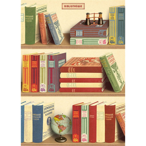 Library Books Poster Wrap