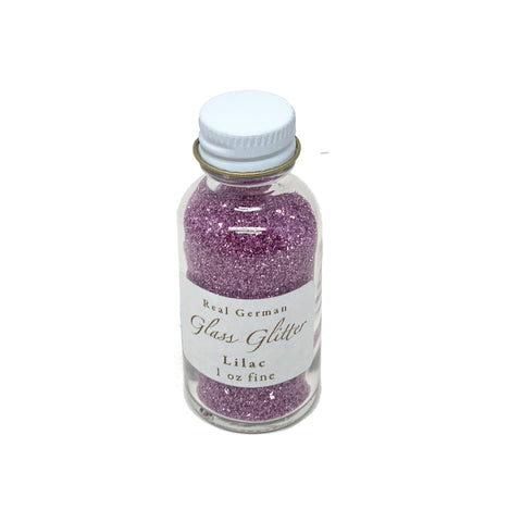 Lilac German Glass Glitter - 1oz