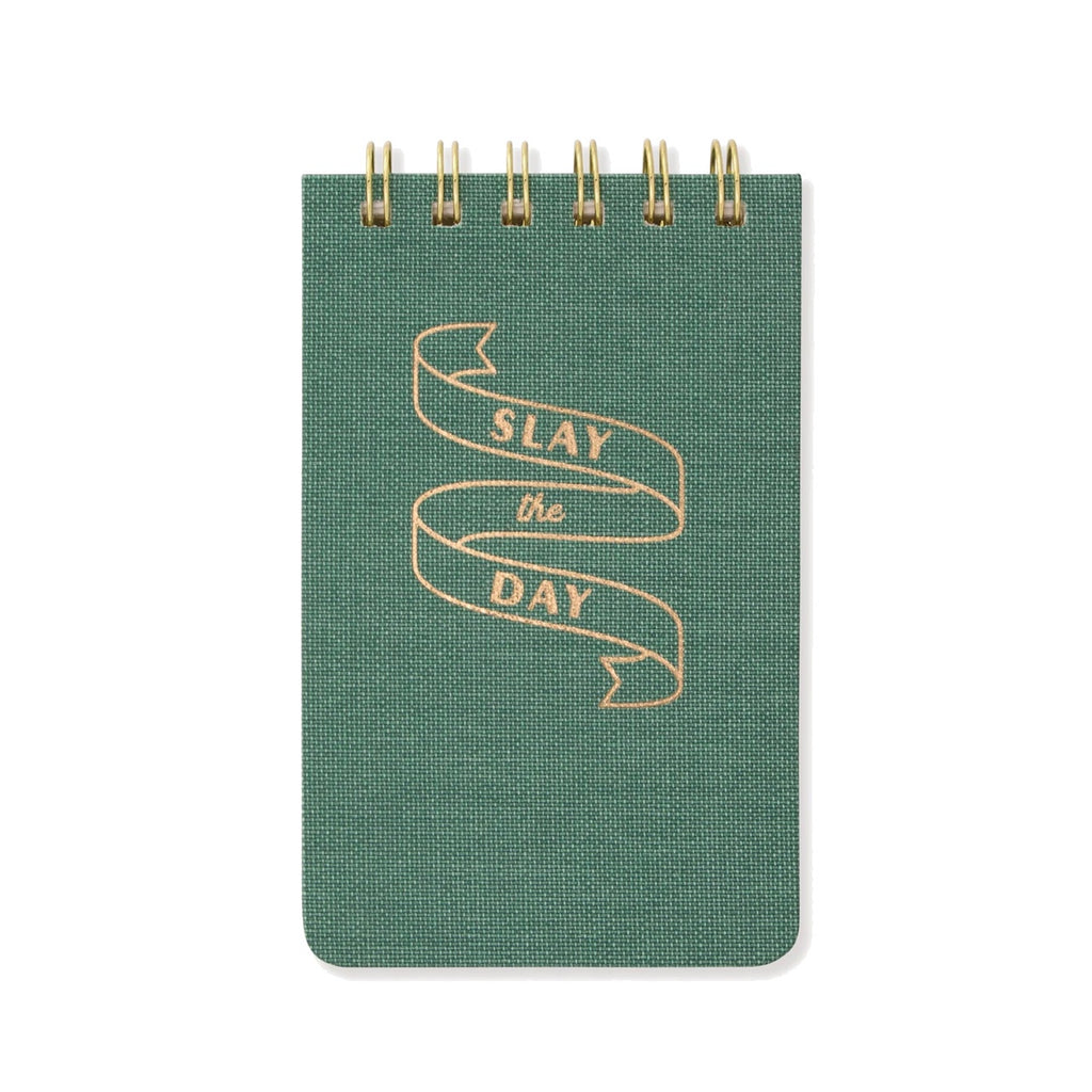 Slay The Day Twin Wire Notepad