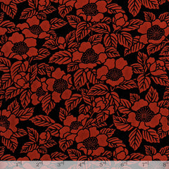 Lacquered Yuzen - Camellia Red Full/Half Sheet