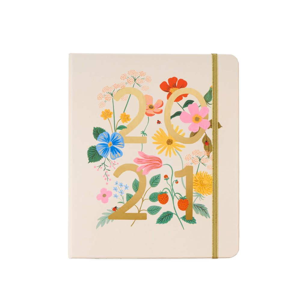 2021 Wild Garden Covered Planner