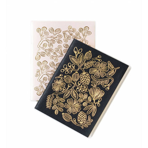 Rifle Gold Foil Pocket Notebook Set