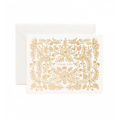 Rose Gold Thank You Boxed Cards