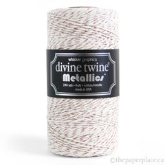 Metallic Rose Gold Divine Twine