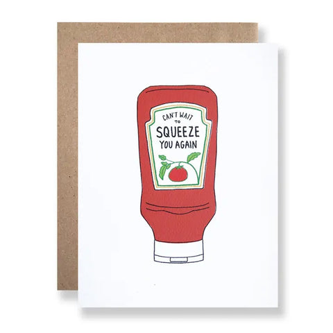 Squeeze You Single Card