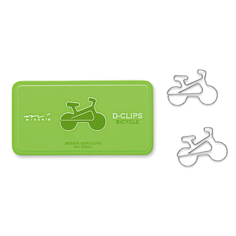 Bicycle D-Clips - 30pcs.