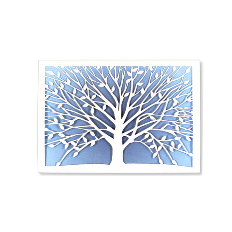 Tree of Life Laser Cut Boxed Cards