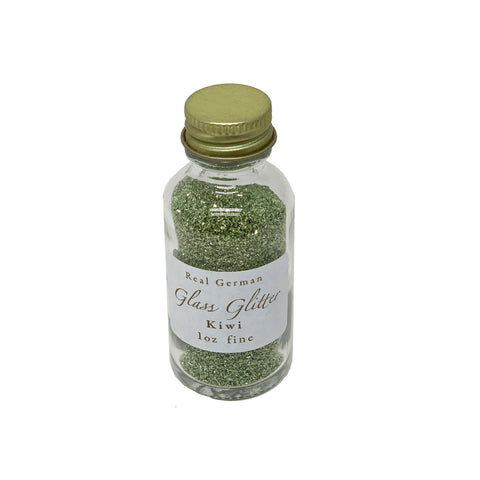 Kiwi German Glass Glitter - 1oz