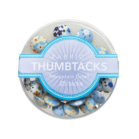 Mountain Flora Fabric Thumbtacks