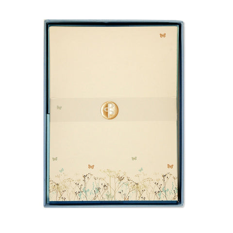 Butterfly Letter-Perfect Stationery