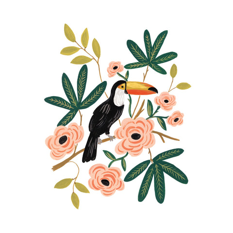 Toucan Temporary Tattoo (Set of 2)