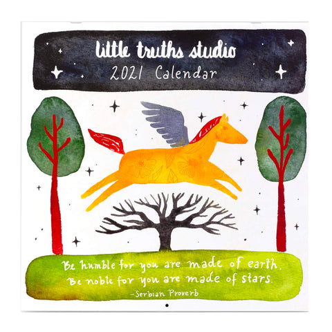 2021 Little Truths Studio Wall Calendar