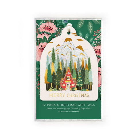 Gift Tags 12 Pack - Houses