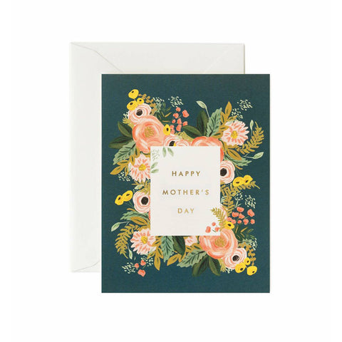 Bouquet Mother's Day Single Card
