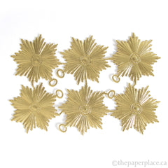 Dresden Trim - Decoration - Double-Sided Gold