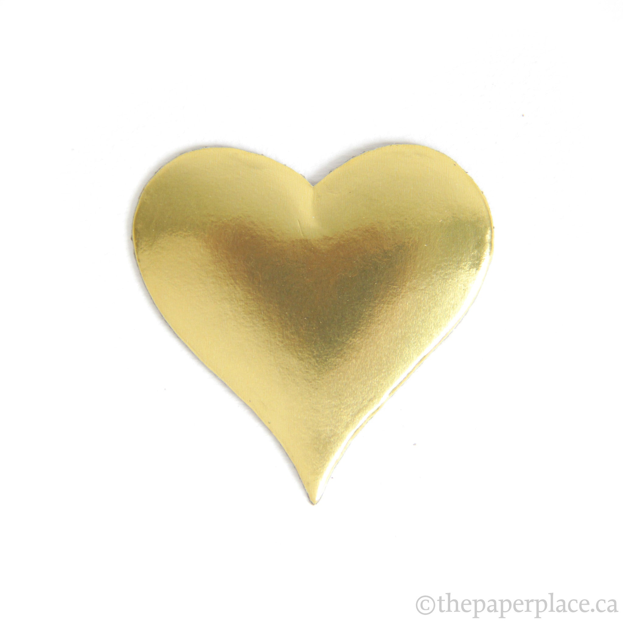 Dresden Trim - Heart - Double-Sided Gold
