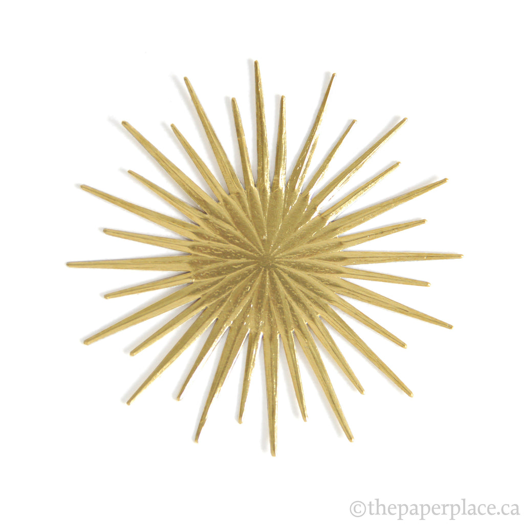 Dresden Trim - Multi-Sided Star - Double-Sided Gold