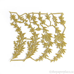 Dresden Trim - Myrtle - Double-Sided Gold