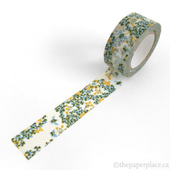 Green Wood Sorrel Washi Tape - 20mm