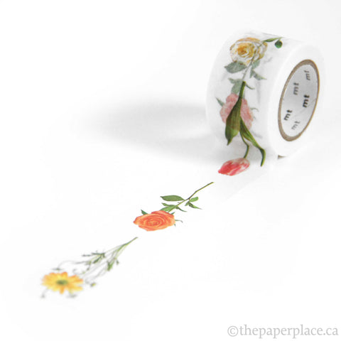 Hana R Flower Washi Tape - 30mm