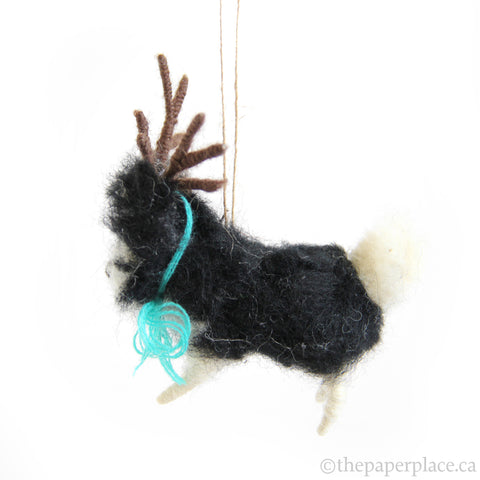 Holiday Hound Ornament - Shepherd