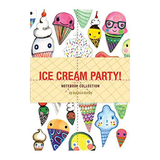 Ice Cream Party Journal Set