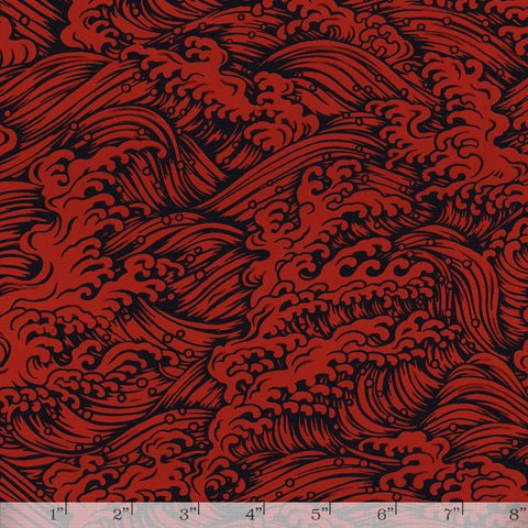 Lacquered Yuzen - Konami Red Full/Half Sheet