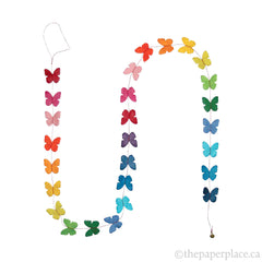Mini Butterfly Garland - Rainbow