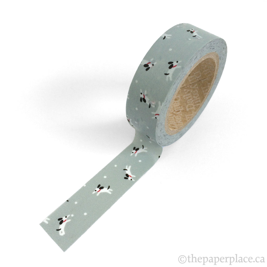Happy Dog Washi Tape - 15mm