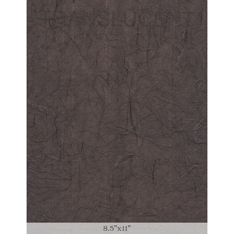 "Silk Dark Brown - Sample 8.5"" x 11"""