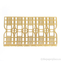 Dresden Trim - Sled - Double-Sided Gold