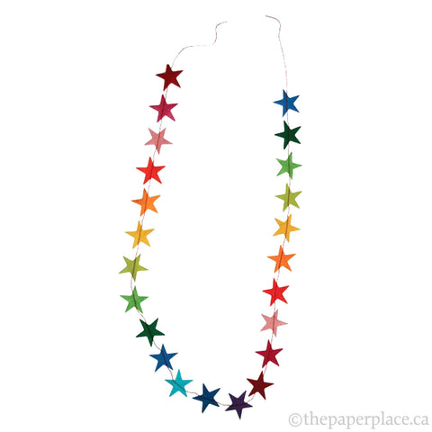 Star Garland - Rainbow