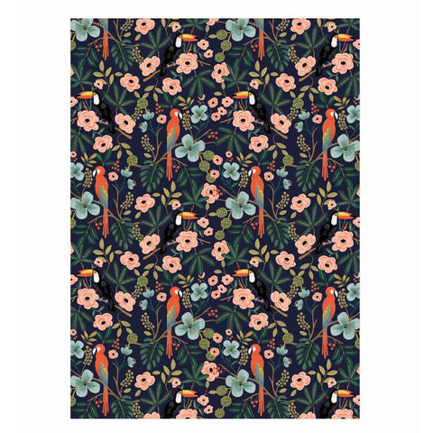 Rifle Paper Co. Paradise Gardens Wrapping Sheets, Roll Of 3
