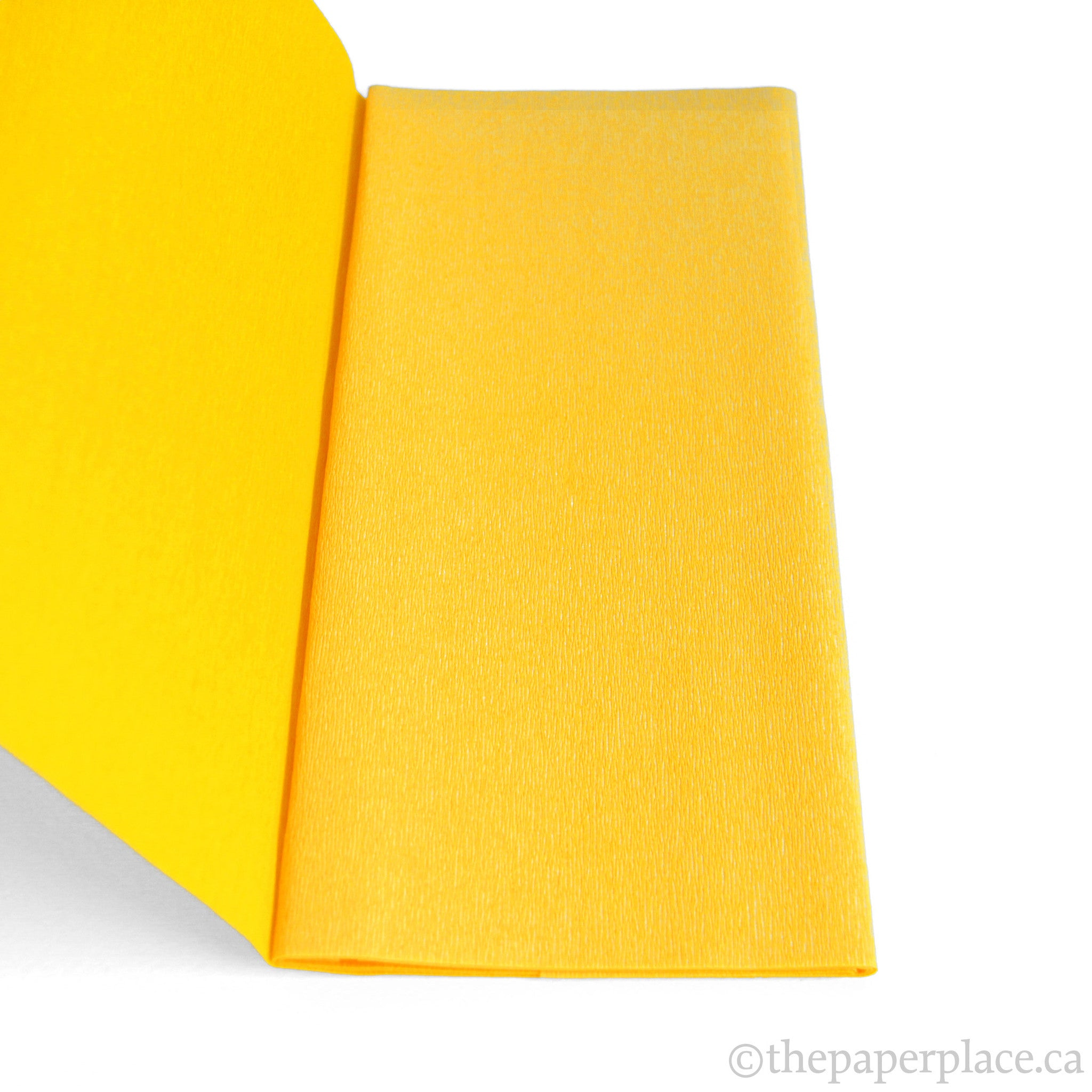 Double-Sided Crepe  Goldenrod Yellow