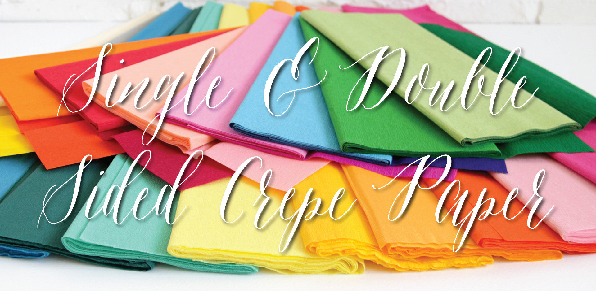 Crepe Paper - For Sale Online - Worldwide Shipping