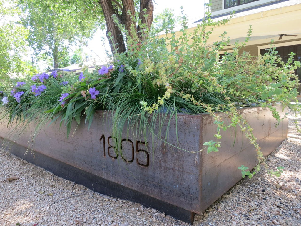 Custom Modern Steel Planters Railing And Architectural